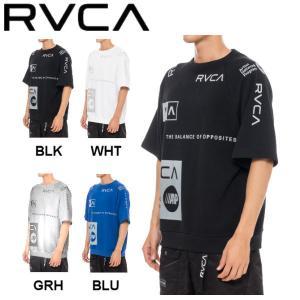 ルーカ RVCA メンズ ALL OVER RVCA SS Tシャツ 半袖 スケートボード サーフィン トップス 54tide