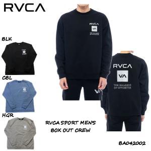 ルーカ RVCA SPORT メンズ BOX OUT CREW トレーナー スウェット トップス サーフィン スケートボード 正規品|54tide