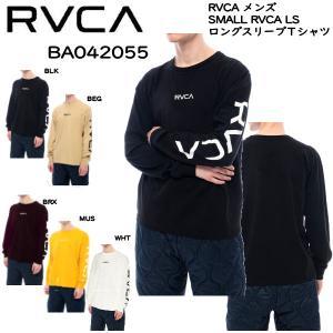 ルーカ RVCA 2020秋冬 メンズ SMALL RVCA LS ロングスリーブTシャツ TEE 長袖 ロンT トップス サーフィン スケートボード S/M/L/XL 【正規品】|54tide