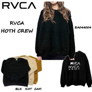 ルーカ RVCA 2020年秋冬 レディース RVCA HOTH CREW スウェット ボア トレーナー ドロップショルダー長袖トップス【正規品】|54tide