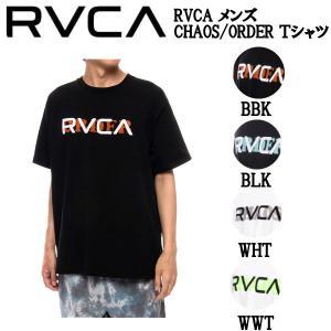 ルーカ RVCA メンズ CHAOS/ORDER Tシャツ 半袖 ロゴ スケートボード サーフィン トップス S/M/L/XL 54tide