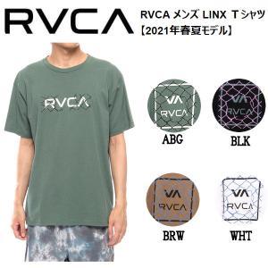 ルーカ RVCA メンズ メンズ LINX Tシャツ 半袖 バックプリント スケートボード サーフィン トップス S/M/L/XL 54tide