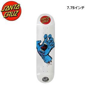 サンタクルーズ SANTA CRUZ 7.75インチ スケボー デッキ スケートボード 板 Blue White SMU Screaming Hand|54tide