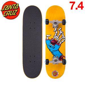 サンタクルーズ HYBRID HAND MINI 7.4×27.6 キッズスケートボード コンプリートデッキ スケボー 板|54tide