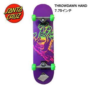 サンタクルーズ SANTA CRUZ 7.75x31.4 サイズ コンプリート スケートボード デッキ 板 Throwdown Hand|54tide