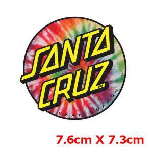 SANTA CRUZ サンタクルーズ TIE DYE DOT 3 ステッカー|54tide