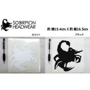 スコーピオン SCORPION SASORI カッティングステッカー|54tide