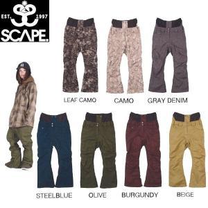 エスケープ SCAPE  CELES PANTS レディーススノーパンツ スノーボードウェア 711-153-37 54tide