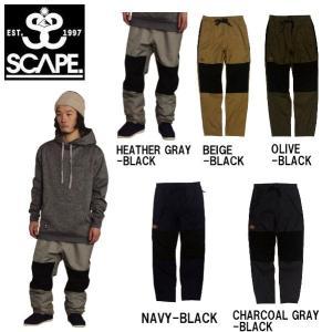 特典あり SCAPE エスケープ メンズ スノーパンツ ボトムス スノーウェア スノーボード TRACK PANTS|54tide