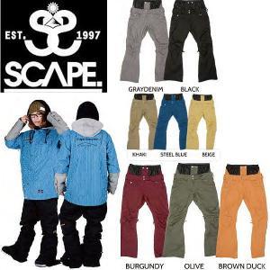 SCAPE エスケープ 14-15 Celes Pants レディーススノーパンツ 女性用スノーボードウェア ウエア ズボン|54tide