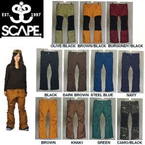 エスケープ SCAPE Celes Pants レディースス...