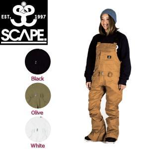 特典あり SCAPE エスケープ WOMEN'S BIB PANTS レディース スノーパンツ スノーウェア スノーボードウエア スノボ ビブパンツ 3カラー M・L|54tide