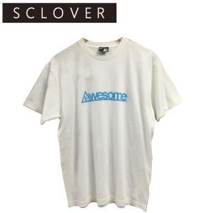 スクローバー SCLOVER AWESOME TEE メンズ半袖Tシャツ|54tide