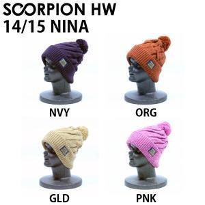 スコーピオン SCORPION ヘッド ウェア ウエア Nina メンズ レディース リブ ビーニー ニット帽 帽子|54tide