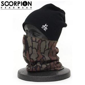 SCORPION スコーピオン ヘッド ウェア メンズ レディース ネックウォーマー|54tide