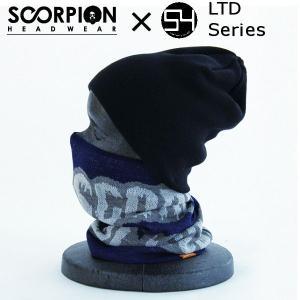 スコーピオン SCORPION×54TIDEヘッドウェア ウエア2014 54限定 N-LOGO LTD Series メンズ レディース ネックウォーマー ロゴ柄|54tide