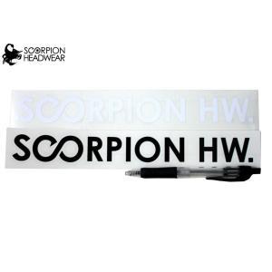 スコーピオン SCORPION スクローバー SCLOVER DESIGNヘッドウェア ウエア カッティングステッカー|54tide