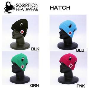 スコーピオン SCORPION ヘッド ウェア ウエア HATCH メンズ レディース ビーニー 速乾性の高いCOOLMAX仕様 ニット帽 帽子|54tide