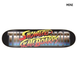 ショウゲキ SHOWGEKI SKATEBOARDS 衝撃 キッズ ジュニア スケートボード スケート デッキ SKATE DECK SK8 スケボー 板 SHOWGEKI FIGHTER MINI|54tide
