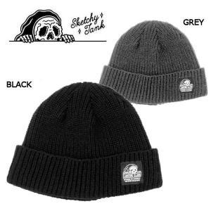 スケッチータンク SKETCHY TANK メンズ ビーニー ニット帽 帽子 スケートボード スケボー LURKING CLASS TAG SHORT BEANIE|54tide