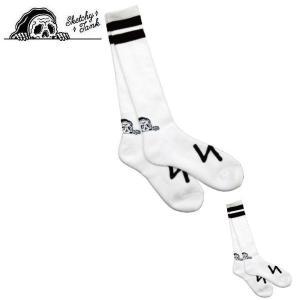 スケッチータンク SKETCHY TANK 2019秋冬 LURKING CLASS IIPACK HIGH SOCK 靴下 ソックス ハイソックス スケートボード スケボー 2個入り|54tide