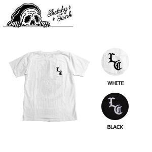 スケッチータンク SKETCHY TANK メンズ 半袖Tシャツ ティーシャツ トップス M・L 2カラー SKULL GIRL POCKET TEE|54tide