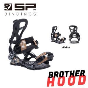 エスピーユナイテッド  SP UNITED BROTHERHOOD BINDING メンズ レディース ビンディング バインディング スノーボード スノボー M ブラック|54tide