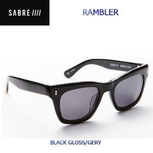 ステッカープレゼント SABRE セイバー RAMBLER ユニセックスサングラス メンズ レディース 54tide