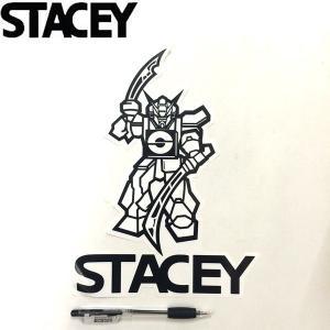 STACEY ステイシーサーフボード ステッカー Decal仕様 縦25,5cm × 横19cm サーフィン スポーツ|54tide
