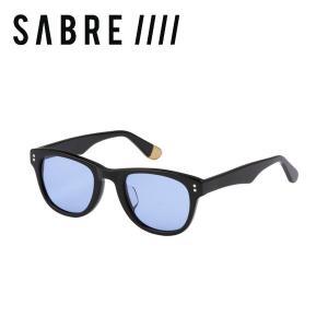 ステッカープレゼント セイバー SABRE CHEVELLE ユニセックス サングラス メンズ レディース BLACK GLOSS/LIGHT BLUE 54tide