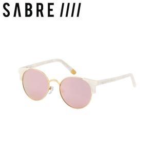ステッカープレゼント セイバー SABRE SHEENA ユニセックス サングラス メンズ レディース PEARL/MT GOLD METAL/PINK MIRROR 54tide