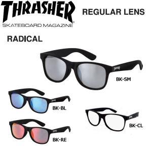 スラッシャー THRASHER サングラス レギュラーレンズ RADICAL 4カラー 54tide