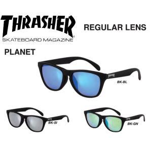 スラッシャー THRASHER サングラス レギュラーレンズ PLANET 3カラー 54tide