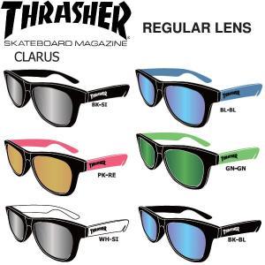 スラッシャー THRASHER サングラス レギュラーレンズ CLARUS 6カラー 54tide