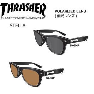 スラッシャー THRASHER サングラス 偏光レンズ STELLA 2カラー 54tide