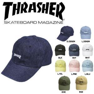 スラッシャー THRASHER メンズ レディース キャップ ストラップバック ローキャップ 帽子 10カラー 54tide