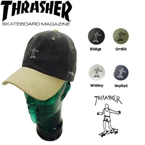 スラッシャー THRASHER メンズキャップ ストラップバック 帽子 4カラー 54tide