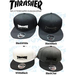 スラッシャー THRASHER メンズキャップ 平ツバキャップ 帽子 スケートボード スケボー 4カラー MAG LOGO  OTTO オットー|54tide