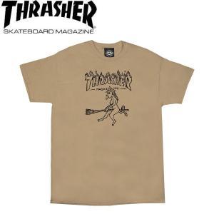 スラッシャー THRASHER メンズ 半袖Tシャツ ティーシャツ トップス WITCH S/S TEE 54tide