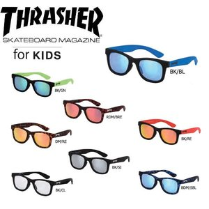 スラッシャー THRASHER サングラス レギュラーレンズ  for KIDS 8カラー|54tide