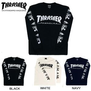 スラッシャー THRASHER 2019秋冬 TH 93159 XL/S T-SHIRT メンズ 長袖Tシャツ ティーシャツ TEE ロンT トップス 3カラー S・M・L・XL 54tide