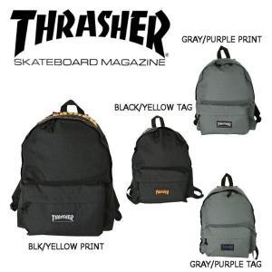 スラッシャー THRASHER メンズ バックパック リュックサック バッグ かばん 4カラー FLAME LOGO BACK PACK 54tide