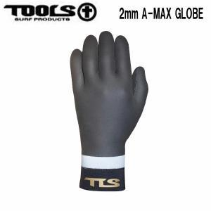トゥールス TOOLS サーフグローブ ウェットスーツ 防寒 ツールス サーフィン WINTERGLOVE 厚み2mm TLS A-MAX GLOBE 54tide