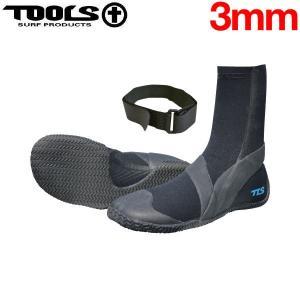 TOOLS トゥールス TLS SOFT BOOTS 3mm ソフトブーツ ファステンストラップ付 サーフブーツ サーフィン|54tide