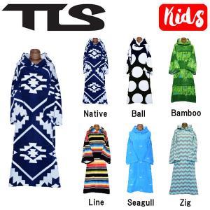 トゥールス TOOLS TLS TOWEL PONCHO キッズ ジュニア タオルポンチョ 子供用 お着替えポンチョ プール サーフィン 6カラー Cotton Poncho Kids|54tide