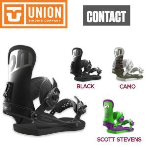 UNION BINDING ユニオン CONTACT メンズ ビンディング スノーボード バイン M 3カラー|54tide