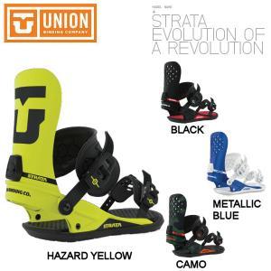 UNION ユニオン STRATA ストラータ BINDING スノーボード バインディング  オールラウンド カービング パーク 54tide