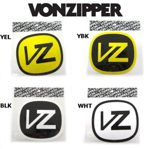 VONZIPPER アイコンステッカー 12.3cm×13.5cm 4カラー|54tide
