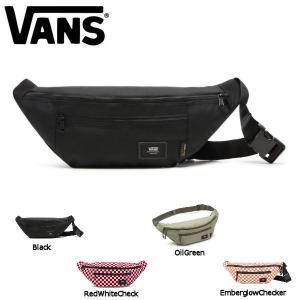 バンズ VANS メンズ レディース ボディバック ウエストバック ウエストポーチ バッグ かばん 19cmx39cmx11cm 4カラー WARD CROSS BODY PACK|54tide
