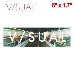 V/SUAL ヴィジュアル Clone ステッカー 縦約4.2cm×横約15.1cm VISUAL|54tide